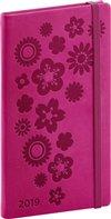 Obálka knihy Kapesní diář Vivella Speciál 2019, růžový