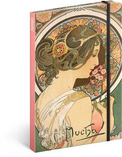 Obálka titulu Notes Alfons Mucha – Petrklíč, linkovaný