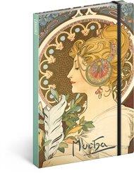 Notes Alfons Mucha – Pero, nelinkovaný
