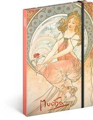 Notes Alfons Mucha – Obraz, llinkovaný