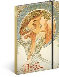 Notes Alfons Mucha – Poezie, linkovaný