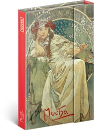 Notes Alfons Mucha – Princezna, linkovaný
