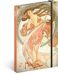 Notes Alfons Mucha – Tanec, linkovaný
