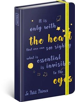 Obálka titulu Notes Malý princ – Oči, linkovaný