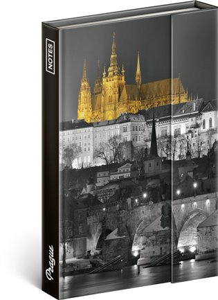 Notes Praha – Jakub Kasl, linkovaný:10,5 x 15,8 cm - - | Booksquad.ink