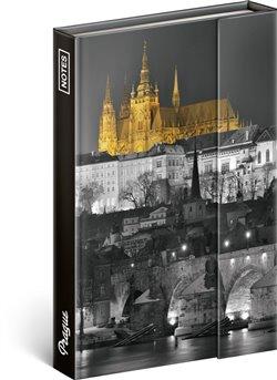 Notes Praha – Jakub Kasl, linkovaný, 10,5 x 15,8 cm