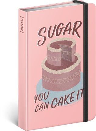Notes Sugar – Studio Tabletters, linkovaný:10,5 x 15,8 cm - -   Booksquad.ink