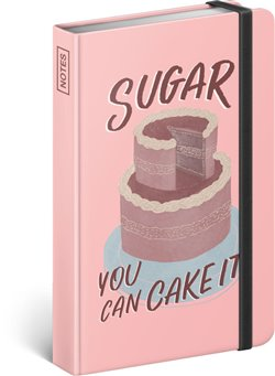 Notes Sugar – Studio Tabletters, linkovaný, 10,5 x 15,8 cm