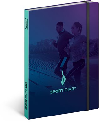 Sportovní diář 2019:15 x 21 cm - -   Booksquad.ink