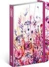 Obálka knihy Týdenní diář Akvarelové květiny 2019