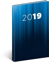 Týdenní diář Cambio 2019, modrý