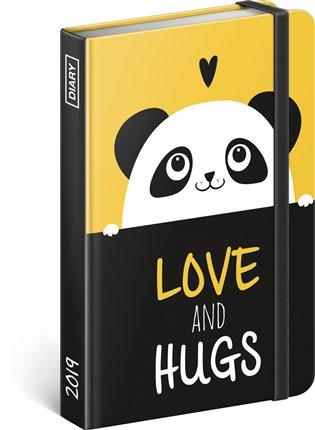 Týdenní diář Panda 2019:11 x 16cm - - | Booksquad.ink
