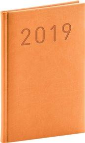 Týdenní diář Vivella Fun 2019, oranžový