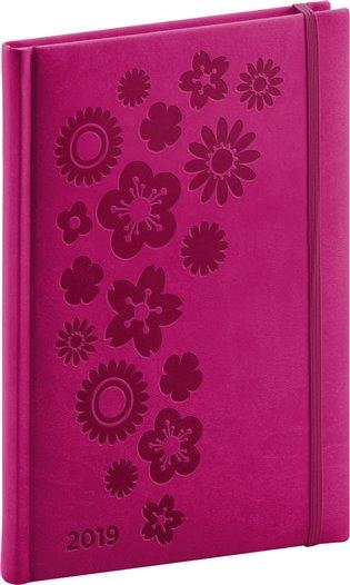Týdenní diář Vivella Speciál 2019, růžový:15 x 21 cm - - | Booksquad.ink