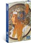 Obálka knihy Týdenní magnetický diár Alfons Mucha 2019