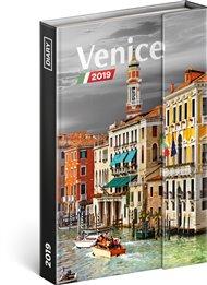 Týdenní magnetický diář Benátky 2019