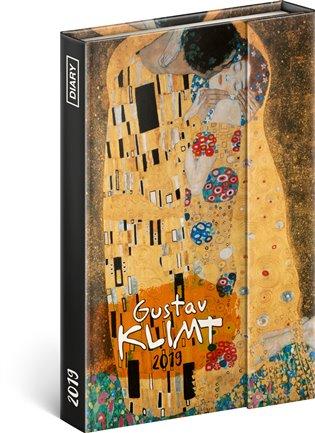 Týdenní magnetický diář Gustav Klimt 2019:10,5 x 15,8 cm - -   Booksquad.ink