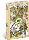 Obálka knihy Týdenní magnetický diář Josef Lada 2019