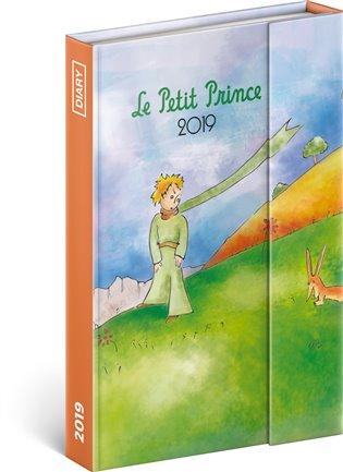 Týdenní magnetický diář Malý princ – Prince 2019:10,5 x 15,8 cm - -   Booksquad.ink