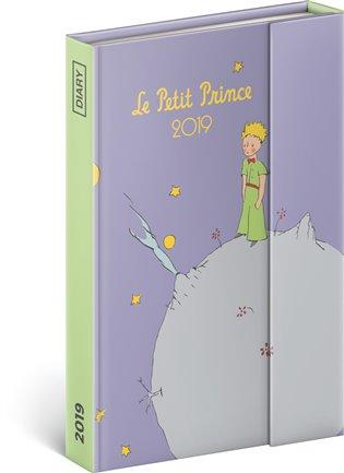 Týdenní magnetický diář Malý princ – Planet 2019:10,5 x 15,8 cm - - | Booksquad.ink