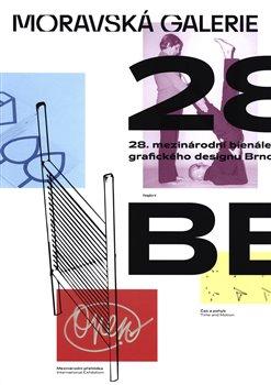 Obálka titulu 28. mezinárodní bienále grafického designu Brno 2018