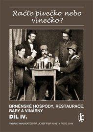Račte pivečko nebo vínečko? díl IV.