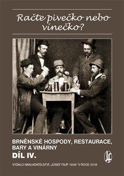 Obálka titulu Račte pivečko nebo vínečko? díl IV.