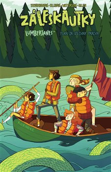 Obálka titulu Záleskautky – Lumberjanes 3