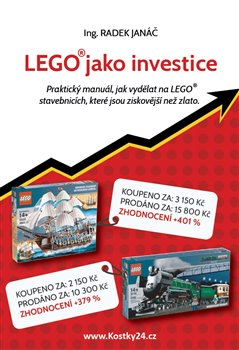 Obálka titulu LEGO jako investice