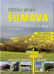 Ottův atlas výletní trasy Šumava