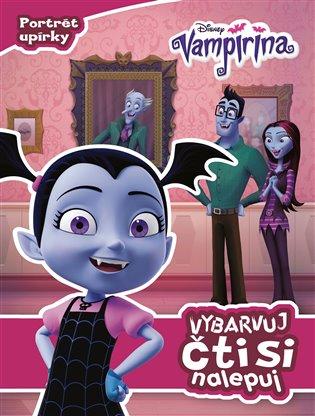 Vampirina - Vybarvuj, čti si, nalepuj - - | Booksquad.ink