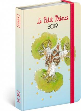 Týdenní diář Malý princ – Baobab 2019:10,5 x 15,8 cm - - | Booksquad.ink