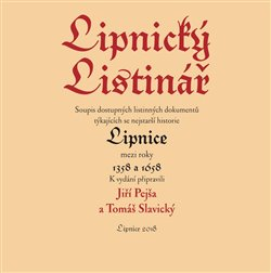 Obálka titulu Lipnický listinář