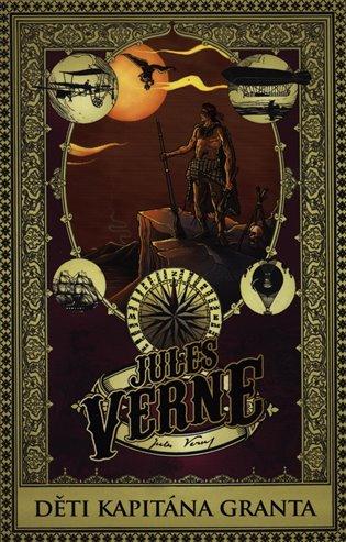 Děti kapitána Granta - Jules Verne   Booksquad.ink
