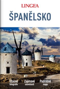 Obálka titulu Španělsko - velký průvodce