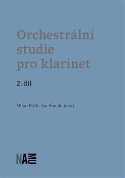 Obálka titulu Orchestrální studie pro klarinet – 2. díl