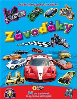 Obálka titulu Závoďáky - akční samolepková knížka