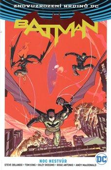 Obálka titulu Batman: Noc nestvůr