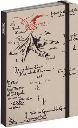Notes Hobbit krémový, linkovaný, 10,5 x 15,8 cm - - | Booksquad.ink