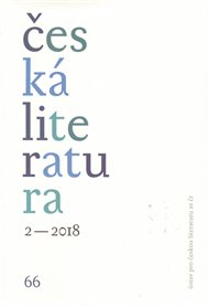 Česká literatura 2/2018
