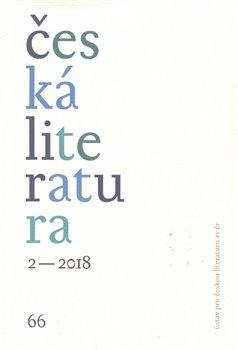 Obálka titulu Česká literatura 2/2018