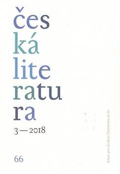 Česká literatura 3/2018