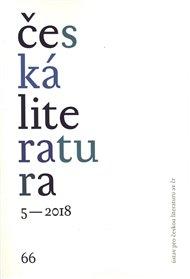 Česká literatura 5/2018