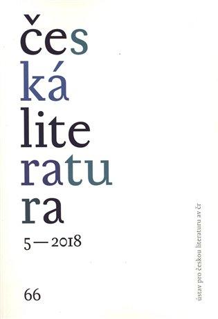 Česká literatura 5/2018 - - | Booksquad.ink