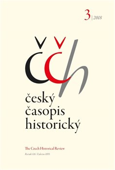Obálka titulu Český časopis historický 3/2018