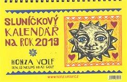 Obálka titulu Sluníčkový kalendář 2019 - stolní