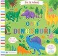 Obálka knihy To je něco! Obří dinosauři