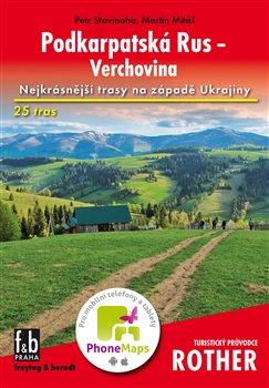 Obálka titulu Podkarpatská Rus - Verchovina - Turistický průvodce Rother
