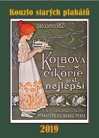Kalendář - Kouzlo starých plakátů 2019 - - | Booksquad.ink