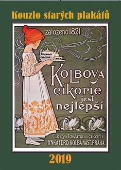 Obálka titulu Kalendář - Kouzlo starých plakátů 2019